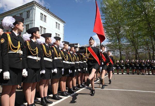 Военное училище после 9 класса для девушек в серпухове